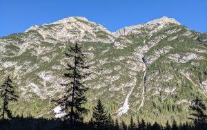 Day on Dolomites Mountains