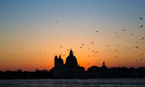 The most Magical Sunset in Venice