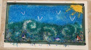 Murano Glass Master-tile making